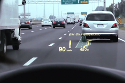 Heads-up Display BMW